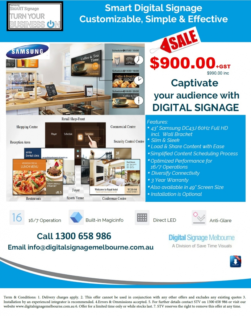 Samsung Digital Signage_Oct18