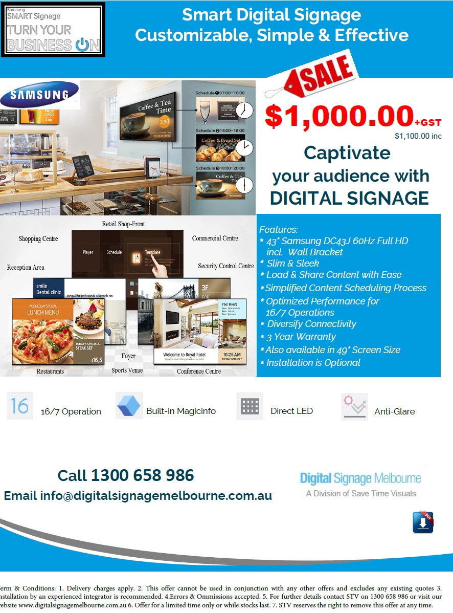 Samsung Smart TV, load and share content with ease